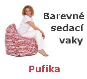 Sedací vaky Pufika